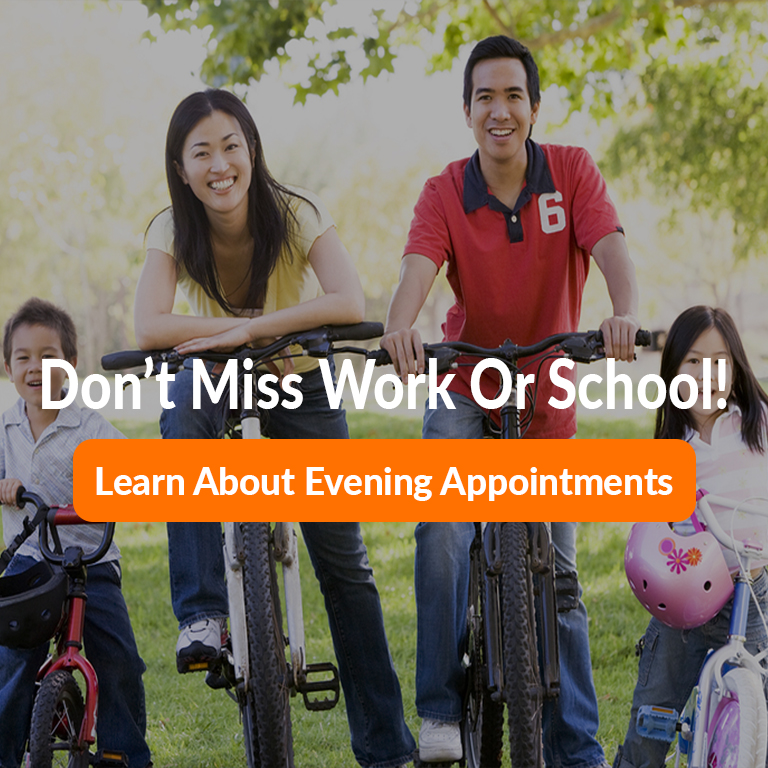 learn about evening appointments