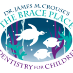 the brace place white logo